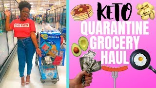 Shop With Me (Walmart & Kroger): Keto Quarantine Grocery Haul I Quarantine Grocery Vlog