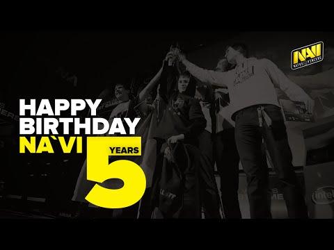 Happy birthday NaVi   5 years of Natus Vincere