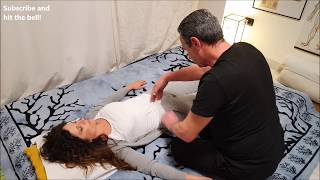 💆 Shiatsu Shamanic Full Body Massage on Eliana - ASMR no Talking