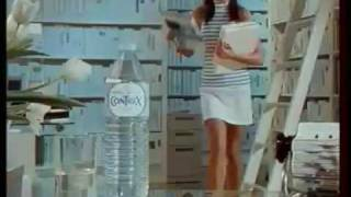 Pub Contrex avec Carla Bruni [ 1988 ]