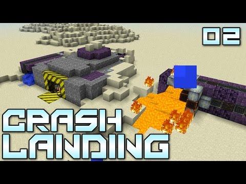 Minecraft Crash Landing 02 Tell My Wife I Love Herrrrr Modded Minecraft