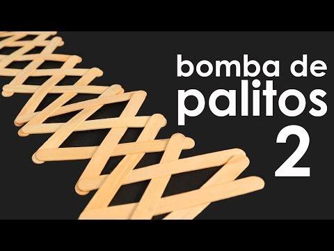 Bomba de palitos de 2ª geração (Stick Bomb) (brinquedo + experiência)