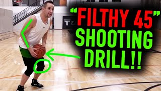 "The World's Best Shooting Drill: ""The Filthy 45"" MUST TRY Basketball Shooting Drills"