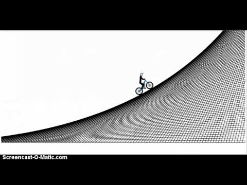 The Perfect Quarter Pipe in Free Rider 3