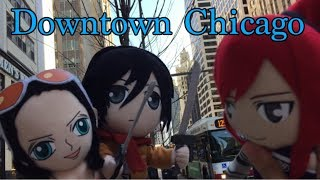 Anime Plush Adventures: Downtown Chicago