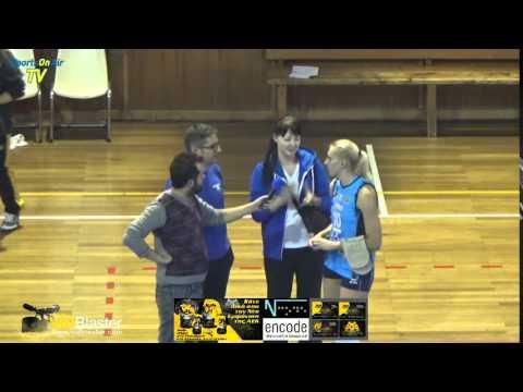 SILANTSYEVA Katsiaryna, post game interview, AEK Athens - Minchanka Minsk 0-3, CEV Challenge Cup