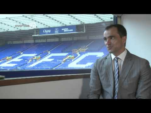 Roberto Martinez - evertontv Interview
