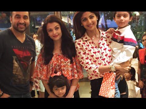 Shilpa Shetty's son Viaan turns 4, Aaradhya Bachchan attends Birthday Bash | Watch Video
