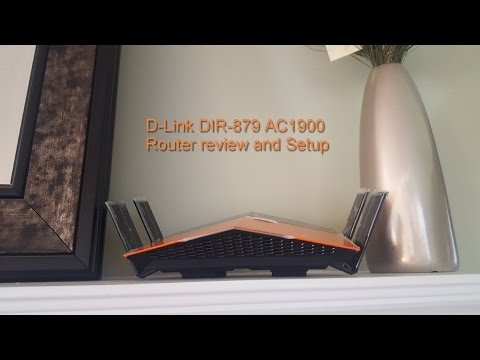 D-Link DIR-879 AC1900 Router setup and review