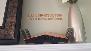 01.D-Link DIR-879 AC1900 Router setup and review