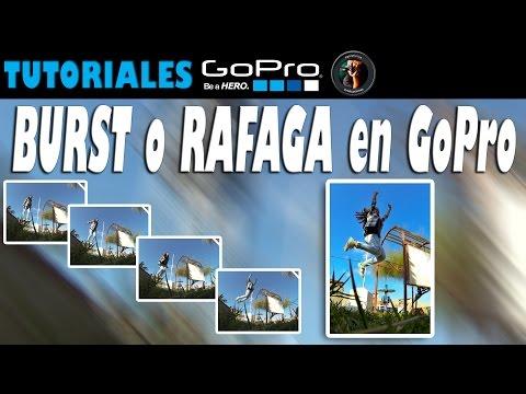 GoPro: Burst Rate o Rafaga de fotografías Tutoriales @Pablofurius
