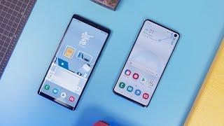 So sánh Samsung Galaxy S10 và Galaxy Note 9