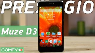 Prestigio Muze D3 (MultiPhone 3530) - стильный смартфон с неплохим оснащением - Видеодемонстрация