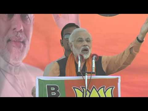 Shri Narendra Modi promises to people that BJP will bring the black money back to India