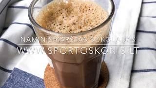 Naminis karštas šokoladas | Sporto Skonis