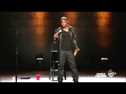 Kevin Hart- How Shaq Falls! Seriously Funny! video