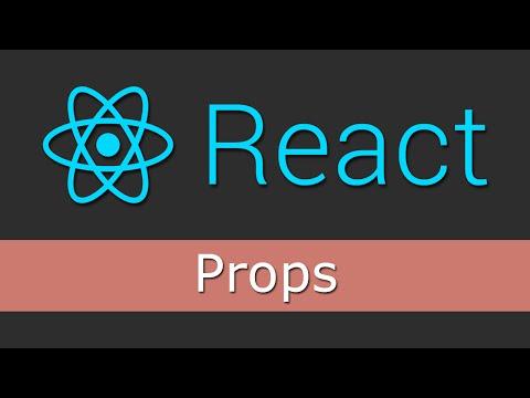React JS Tutorials for Beginners - 5 - Props