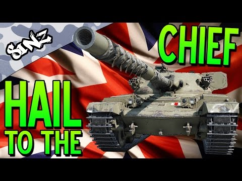 HAIL TO THE CHIEF - World of Tanks Console | Chieftain Mk. 6 Gameplay