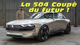 Peugeot e-Legend Concept : la 504 Coupé du futur ?
