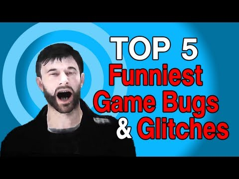 Top 5 Funniest Game Glitches & Bugs Music Videos