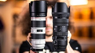 SIGMA 70-200 2.8 Sports REVIEW vs Canon 70-200 2.8L IS III (Is the CHEAPER Lens Better?)