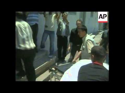 Hamas militants killed in Israeli attack, hospital, morgue