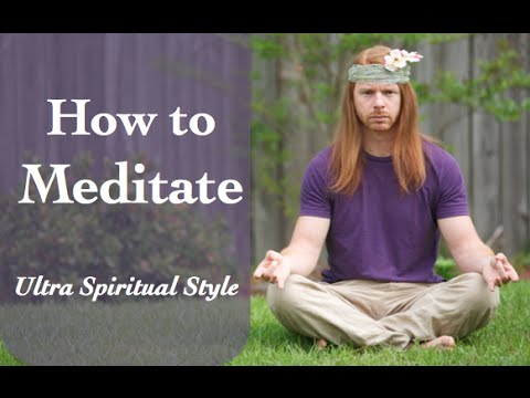 How To Meditate (Funny) - Ultra Spiritual Life episode 14 - with JP Sears