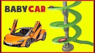 Baby Car | Car Songs | Songs for Children | Loop RaceTrack