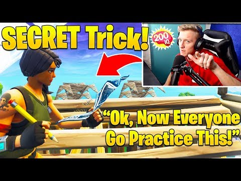 Tfue Finally Teaches SECRET Build Trick! (Everyone MUST Practice This!)