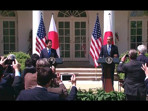 The President and Prime Minister of Japan Hold a Joint Press Conference