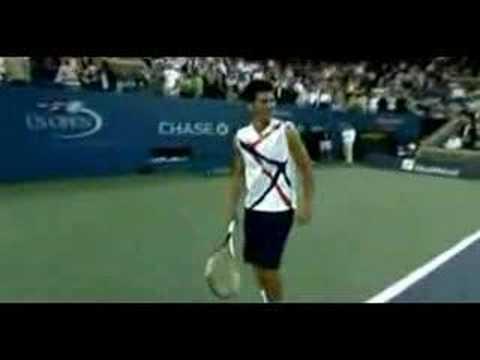 Djokovic impersonates Fed,Nadal,ARod,Hewitt,Sharapova,Goran