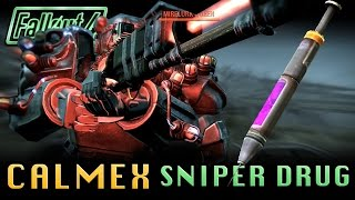 "Fallout 4 | ""Calmex"" The Sniper Drug! +2x Sneak Attack Multiplier Drug! (8.3x Possible Multiplier!)"