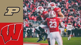 Purdue vs #12 Wisconsin Highlights | NCAAF Week 13 | College Football Highlights