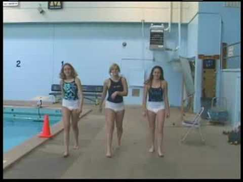 Millikan Girls Water Polo Commercial, Goalie Floaties