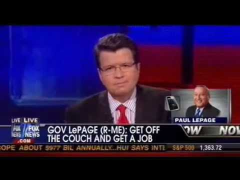 Maine Governor Paul LePage on the FOX Couch
