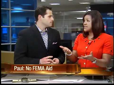 Ron Paul says there should be no FEMA aid for tornado victim