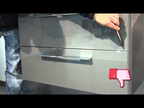 St3 tiroir en bois avec glissi res g1 enlever installer et r glage du tiroir youtube - Amortisseur de tiroir de cuisine ...