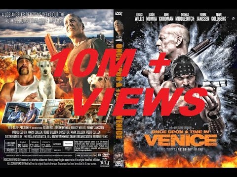 Once Upon A Time In Venice Official Trailer  1 2017 Jason Momoa, Bruce Willis Comedy Movie HD360p