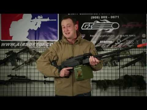 Airsoft GI - New Echo 1 Prototype HMG AEG (Russian PKM)