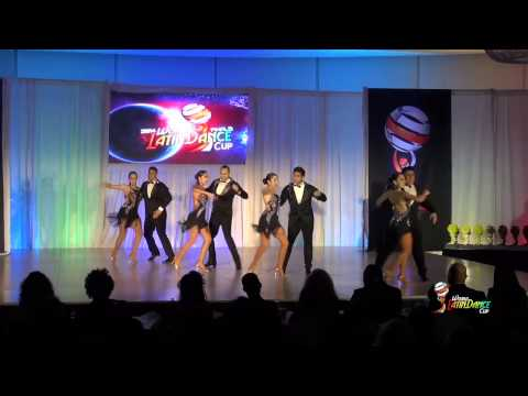 OMAMBO DANCE PROJECT & OMAR MUNOZ, LOS ANGELES, SALSA TEAM, FINAL ROUND, WLDC 2014