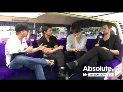 White Lies interview: Isle of Wight Festival 2009