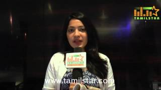 Ramya At Oru Naal Iravil Special Screening