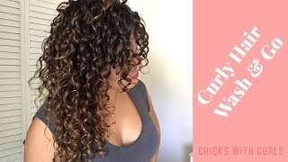 How to style 3a/3b curly hair | Chicks with Curls