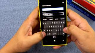  Nokia Lumia920 People Hub  Social Network