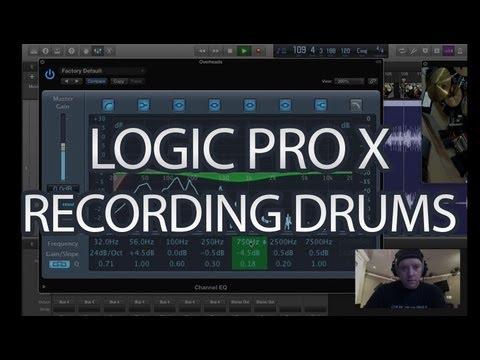 logic pro x how to get drum pad designer