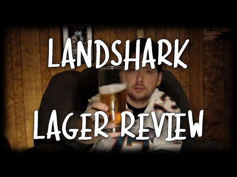 Beer Review - Land Shark Lager Video