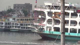 Bangladesh Titanick Ship MV Sundarban 10 and Sundarban 9 and Jubaraj Launch Big Big Res Exclusive HD