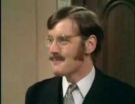 Monty Python - The man who is alternately rude and polite
