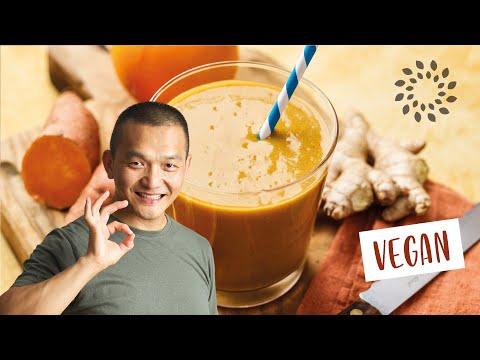 Zentrum der Gesundheit - Süsskartoffel Kaki Drink