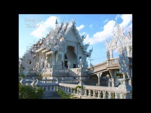 Temples and Buddhism of Thailand [thai devotional music]